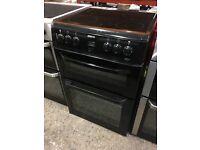 Beko BDVC664K 60cm Electric Double Oven Cooker - Black