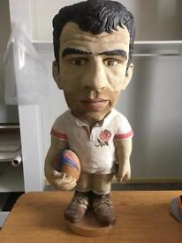Martin Johnson Figure Rugby Leicester Tigers England