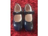 Lelli Kelly Navy Blue Patent Shoes - Size 2