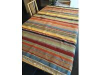 Flat woven rug - medium size