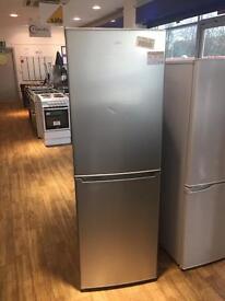 Silver, graded logic fridge freezer 6 months warranty