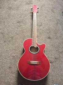 Santa Ana electro acoustic guitar