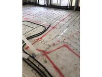 Screed flooring