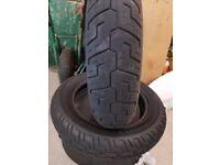 Harley davidson tyres dunlop