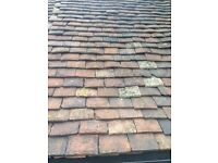 Reclaimed Hand Made Clay Peg Roof tiles