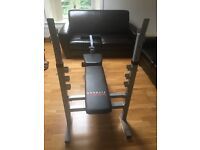 YORK WEIGHT BENCH - as good as new