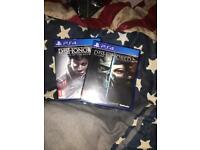 Dishonoured 2 and death of the outsider (PS4)