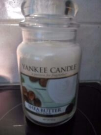 Large Shea Butter yankee candle rrp £23.99