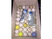 40 Golf Balls & Golf Equipment