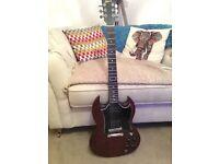 Gibson SG Worn Brown - Customised *Rare*