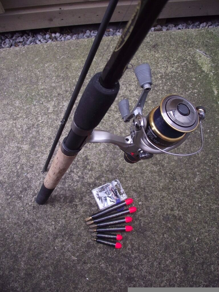 Ron Thompson 11ft Pro Pellet Waggler rod and Shimano Exage 3000 reel. Also with 6 pellet wagglersin Birdwell, South YorkshireGumtree - A lovely, lightweight rod and reel combo for pellet waggler fishing. You can use this effortlessly all day long. Comes with a pack of snap links and some float stops, for attaching to the line, and 6 brand new loaded pellet wagglers, 2 x 4g, 2 x 6g...