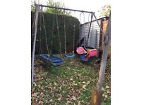 TP 3 swing garden set used in need of a home and a clean