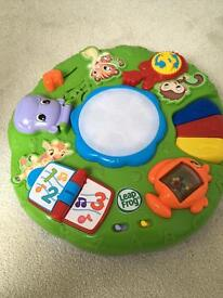 Play table from leap frog