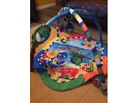 Baby play mat and baby playnest