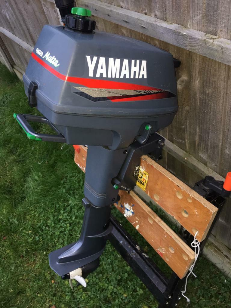 Yamaha malta 3 3 hp outboard engine in locks heath for Yamaha outboard parts house