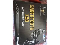 Asus sabertooth x58 motherboard £80 ono