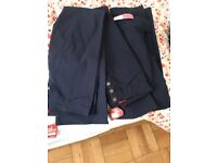 New miss sexy navy trousers