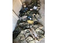 Army airsoft MTP DPM job lot kit boots webbing
