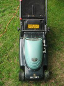 Hayter Envoy, electric lawnmower