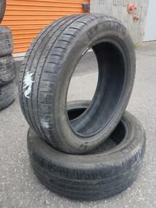 2 PNEUS ETE - MICHELIN 215 50 17 - 2 SUMMER TIRES