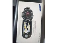 Samsung Shoot and share memory camcorder, boxed and in perfect condition, you tube compatible