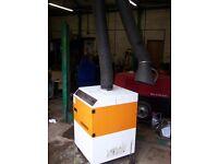 Kemper welding fume extractor