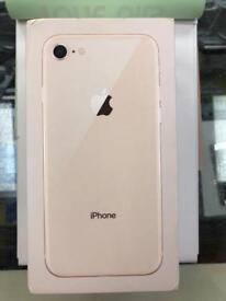 Apple iPhone 8 256GB gold unlocked sim free