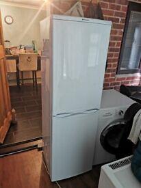 Hotpoint Iced Diamond family sized fridge freezer for sale.