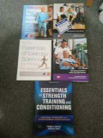 Various Books (Health and Fitness)