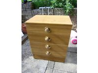 Chest of drawers, good condition, lovely design