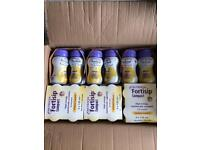 Fortisip nutrition shakes