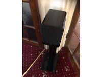 Onkyo TX SR608 7.2 channel AV receiver Plus Surround sound speakers & sub