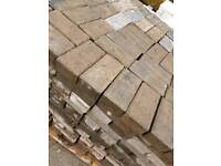 Reclaimed 60mm Block paving