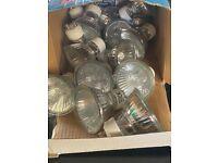 20 Halogen light bulbs - New
