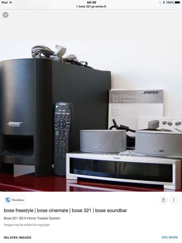 Bose 321 gs series 111