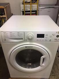 Hot point washer dryer 9+6kg Aquarius