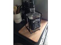 Jack Daniels 3L empty bottle with pouring cradle (RARE)