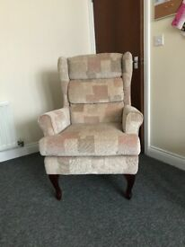 Mulberry Fireside Chair AS NEW. Bought from The Range, never used, no room for it. £85