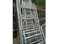 youngman boss narrow access tower scaffold