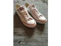 Unisex Size 7 Converse White All Star Oxford Trainers