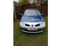 For sale car Renault megane 2007 automation 1.6 petrol miles 79000 5 door Mot 18/10/2018 £999