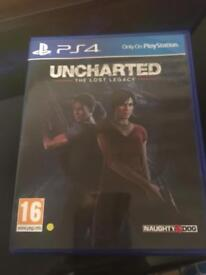 UNCHARTED THE LOST LEGACY PS4 USED