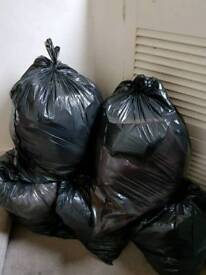 7 bags of girls clothes age about 12 to 14
