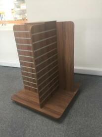 Large Free Standing 4-Sided Display Shelves