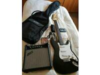 LA Gear4music electric LA guitar