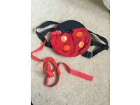 Ladybird safety backpack