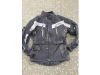 Full armoured motorbike jacket size medium