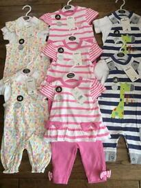 Brand new with tags 0-3 months all for £15!! Or £2.50 each!