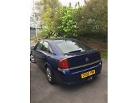Vauxhall vectra 06 plate in blue