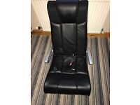 X rocker gaming chair with built in speakers